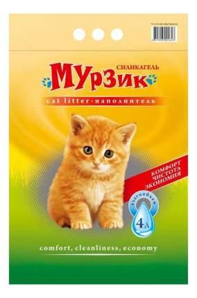 Наполнитель Мурзик силикагелевый 4 л