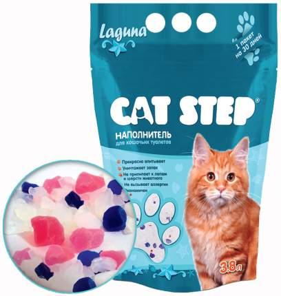 Наполнитель Cat Step Лагуна силикагелевый 3.8 л морской бриз