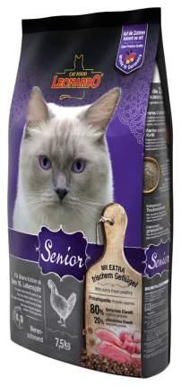 Сухой корм для кошек Leonardo Senior, для пожилых, курица, 7,5кг