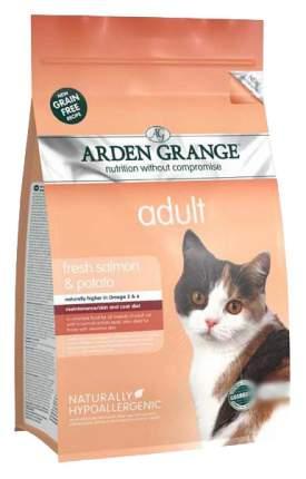 Сухой корм для кошек Arden Grange, беззерновой, лосось, картофель 8кг