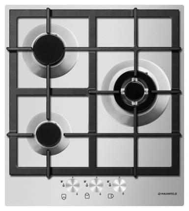 Встраиваемая варочная панель газовая MAUNFELD MGHS 43 73S Silver