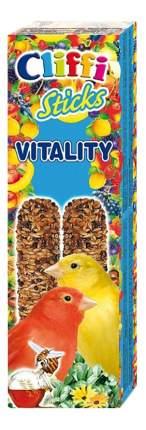 Лакомства для птиц Cliffi для канареек, палочки с отборными зернами и медом, 60г