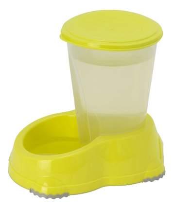 Кормушка-автопоилка для кошек и собак MODERNA, желтый, 1.5 л