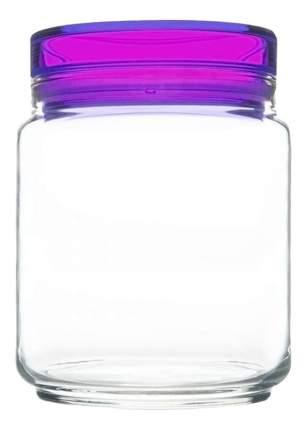 Банка для хранения Luminarc Colorlicious с фиолетовой крышкой 0,75 л
