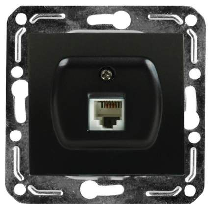 Розетка компьютерная одноместная Volsten V01-14-C11-M