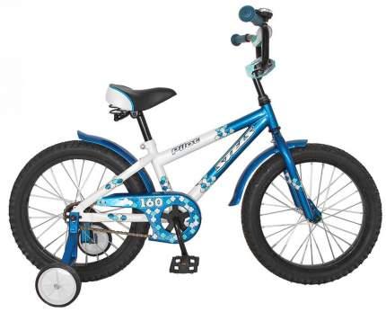 Велосипед STELS Pilot 160 2016 onesize Pilot 160 белый/морская волна LU081260
