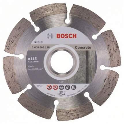 Диск отрезной алмазный Bosch Stf Concrete115-22,23 2608602196