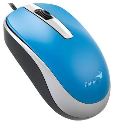Проводная мышка Genius DX-120 White/Cyan (31010105103)