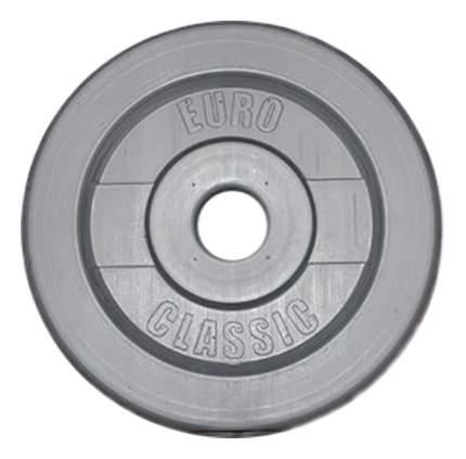 Диск для штанги Euroclassic EK 2 кг, 26 мм