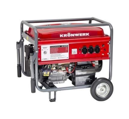 Бензиновый генератор KRONWERK LK 6500E 94690