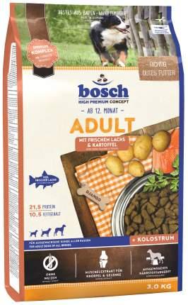 Сухой корм для собак Bosch Adult, лосось и картофель, 3кг