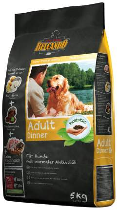 Сухой корм для собак BELCANDO Adult Dinner, птица, 5кг