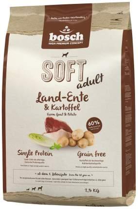 Мягкий корм для собак Bosch Soft Adult, утка и картофель, 2,5кг