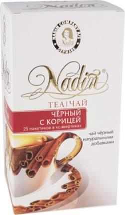 Чай черный Nadin с корицей 25 пакетиков