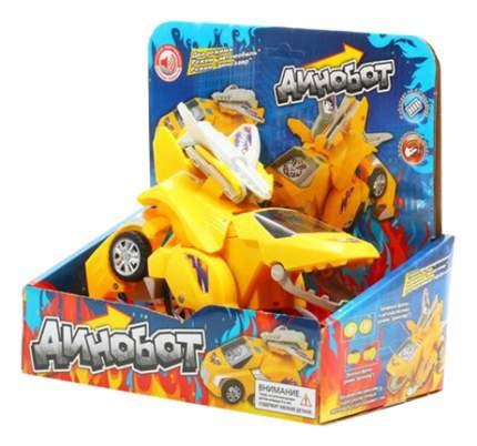 Интерактивная игрушка Zhorya Динобот трансформер желтый
