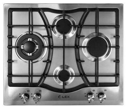 Встраиваемая варочная панель газовая LEX GVS 643 IX Silver