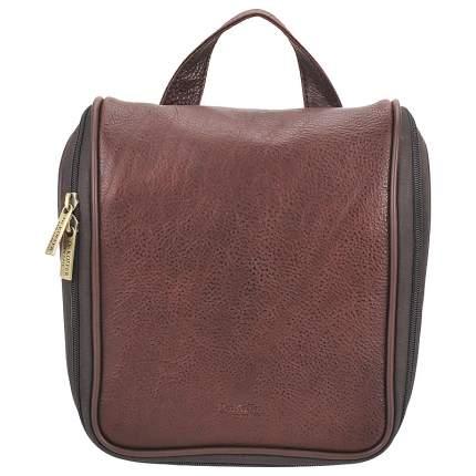 Несессер кожаный Dr. Koffer B216160-02-09 коричневый