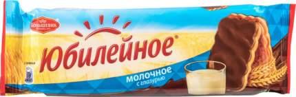 Печенье молочное Юбилейное с глазурью 116 г