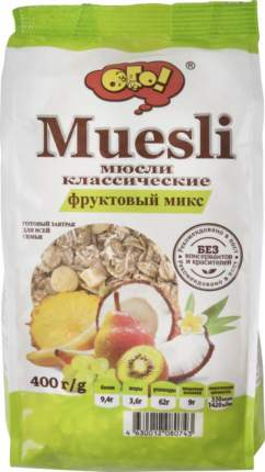 Мюсли классические Ого! фруктовый микс 400 г