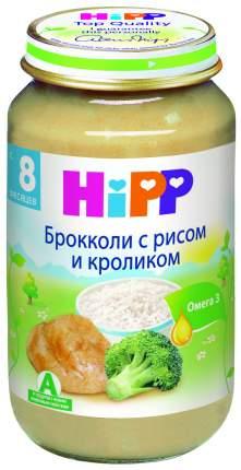 Пюре мясное Hipp Брокколи с рисом и кроликом с 8 мес. 220 г