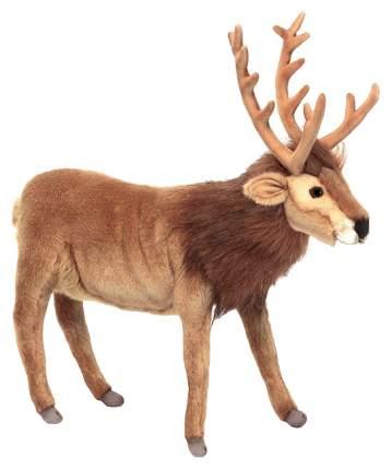 Мягкая игрушка Hansa Северный Олень коричневый 35 см 6189