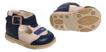 Туфли Таши Орто с логотипом сине-белые 19 размер