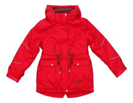 Куртка-парка atPlay для девочки красная р.134