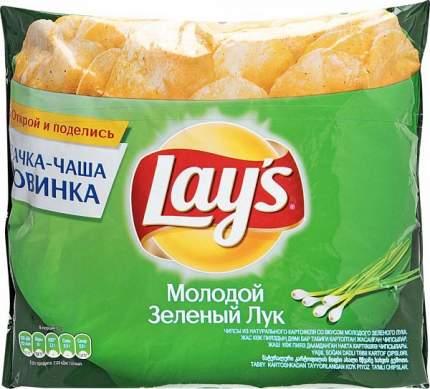 Картофельные чипсы Lay's зеленый лук 240 г