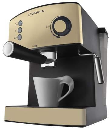 Рожковая кофеварка Polaris PCM 1527E Adore Crema Gold
