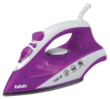 Утюг BBK ISE-1802 White/Purple