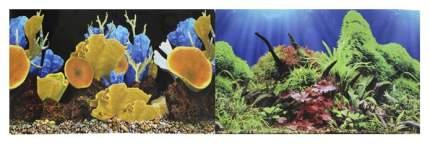 Фон для аквариума Prime Морские кораллы/Подводный мир 60х150см