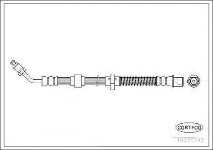 Шланг тормозной системы Corteco 19035742