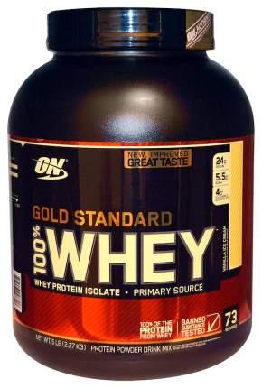Протеин Optimum Nutrition 100% Whey Gold Standard, 2270 г, vanilla ice-cream