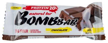 Протеиновый батончик Bombbar Protein Bar 60 г шоколад