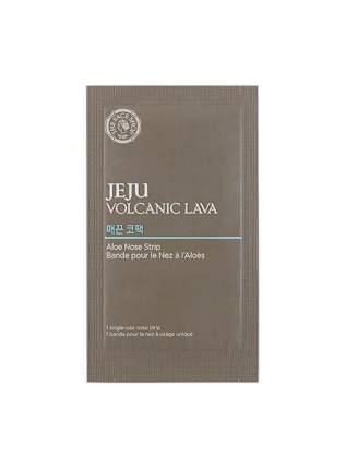 Патчи для очищения кожи The Face Shop Jeju Volcanic Lava Aloe Nose Strip