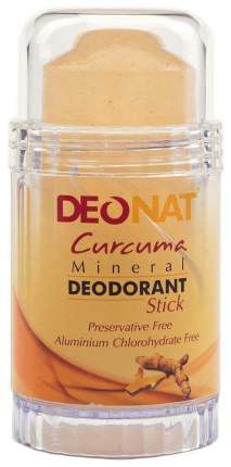 Дезодорант DeoNat Кристалл Curcuma Mineral 80 г