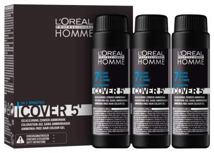 Оттеночный гель L'Oreal Professionnel Homme Cover 5 №7 Blond 150 мл