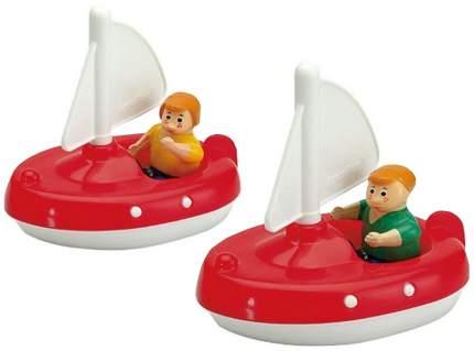 AQUAPLAY Игровой набор игрушки для воды Акваплей Парусники с фигурками 252