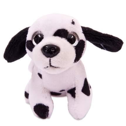 Мягкая игрушка Teddy Собака на брелке далматин, 8 см