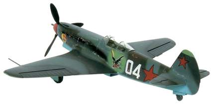 Модели для сборки Моделист Самолет истребитель Як 9Т 204808