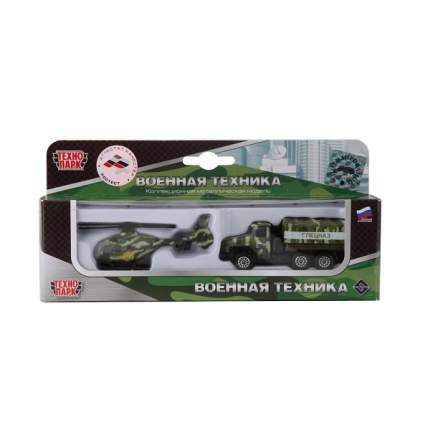 Набор из 2-х металл, моделей Технопарк военная техника 7,5 см