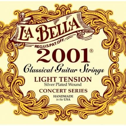 Струны для классической гитары LA BELLA 2001L