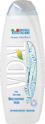 Гель для душа Vidal Мицеллярная вода Acqua Micellare 500мл