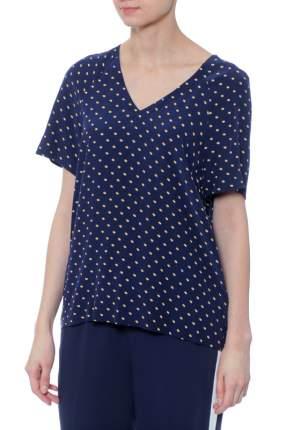 Блуза женская Tommy Hilfiger WW0WW20531 синяя 6 USA