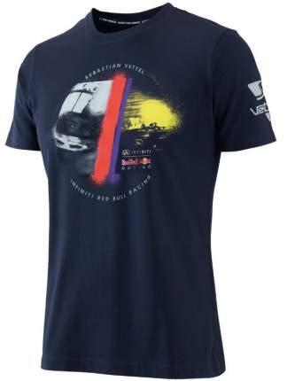 Женская футболка Infiniti M-115545 Red Bull Sebastian Vettel Driver