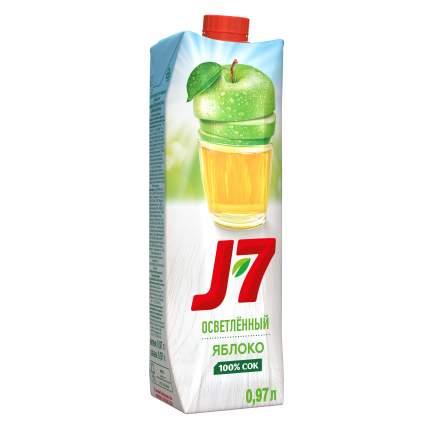 Сок яблоко J7 осветленный 0.97 л
