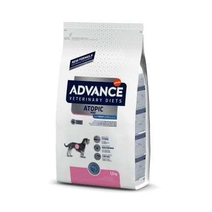 Сухой корм для собак Advance, для мелких пород, при аллергии, форель и картофель, 1,5 кг