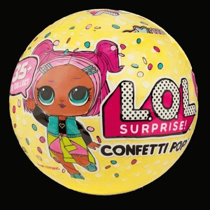 Кукла L.O.L. Surprise Confetti Pop в шаре, 3 серия d0069