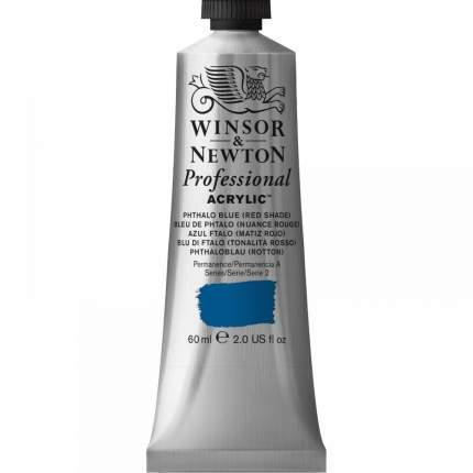 Акриловая краска Winsor&Newton Artists синий фтало красный оттенок 60 мл
