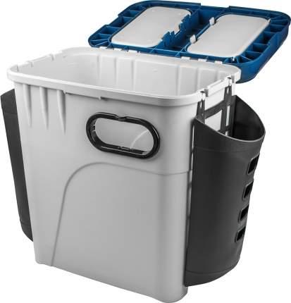 Ящик рыболовный, зимний, пластиковый Salmo, размер: 33,5x23,5x39 см